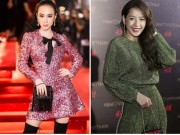 """Angela Phương Trinh lấn át dàn sao bự với váy  """" sao trời """""""