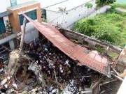 Tin tức trong ngày - Hiện trường đổ nát trong vụ cháy khiến 3 cảnh sát thương vong