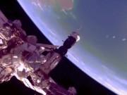 Cánh cổng ngoài hành tinh xuất hiện gần trạm vũ trụ ISS?
