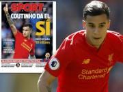 Bóng đá - Coutinho bỏ trận Man City: Nghi án chống đối Liverpool, quyết về Barca
