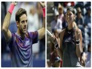 Thể thao - Tin thể thao HOT 8/9: US Open vinh danh Del Potro, Kvitova