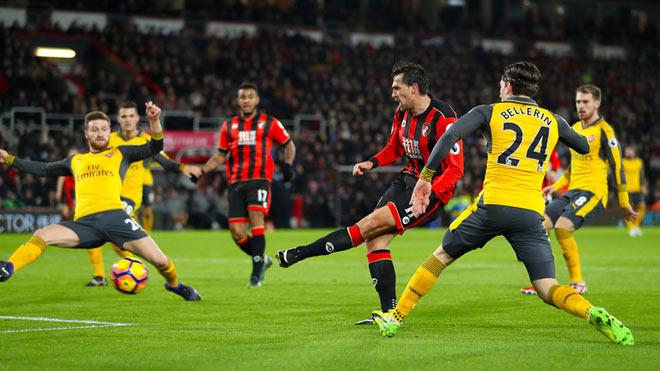 """Arsenal – Bournemouth: Áp lực cực đại, Wenger vẫn """"nổ"""" - 2"""