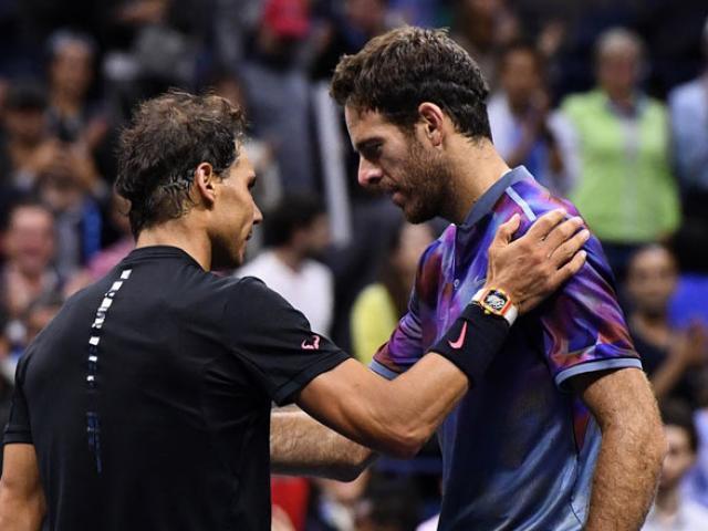 US Open: Nadal ra loạt đòn hảo hạng, Del Potro thất thần