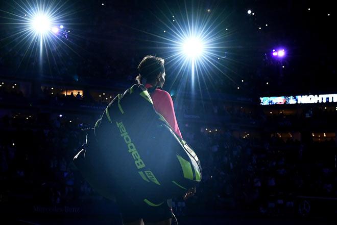 US Open: Nadal ra loạt đòn hảo hạng, Del Potro thất thần 1