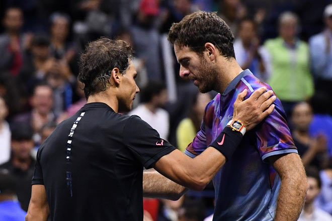 US Open: Nadal ra loạt đòn hảo hạng, Del Potro thất thần 11