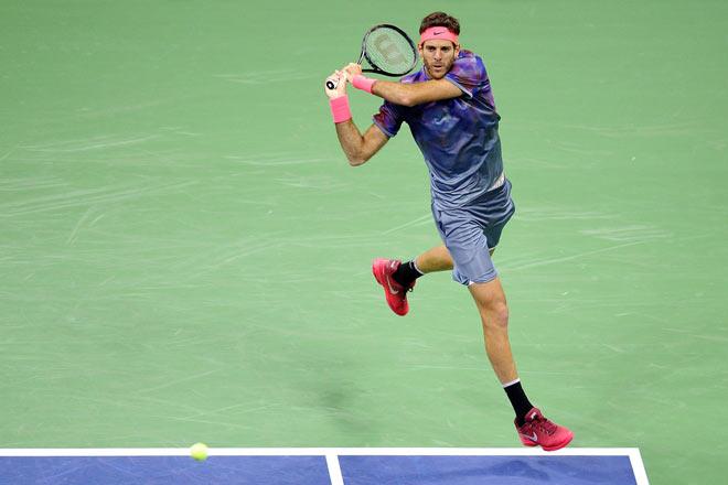 US Open: Nadal ra loạt đòn hảo hạng, Del Potro thất thần 7