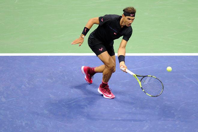 US Open: Nadal ra loạt đòn hảo hạng, Del Potro thất thần 4