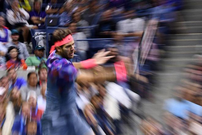 US Open: Nadal ra loạt đòn hảo hạng, Del Potro thất thần 3