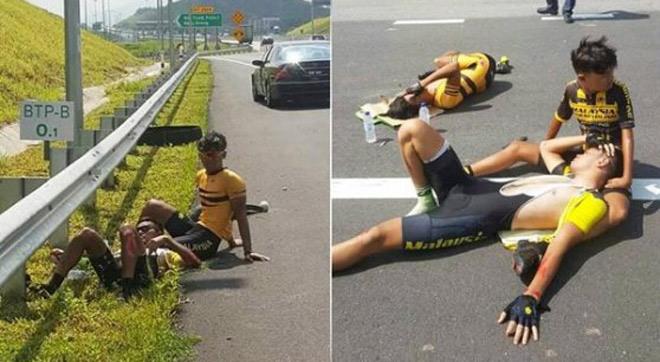 Rúng động thể thao Malaysia: Bỏ tù 5 năm kẻ gây hại 4 cua-rơ 1