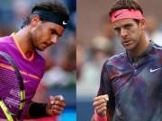 """Thể thao - Chi tiết Nadal - Del Potro: Bất lực trước """"Bò tót"""" (KT)"""