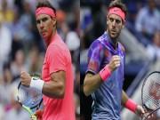 Thể thao - Nadal - Del Potro: Sức mạnh đáng kinh ngạc (Bán kết US Open)