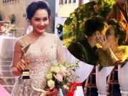 Bảo Thanh lên tiếng về nụ hôn gây tranh cãi sau giải VTV