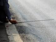 Tin tức trong ngày - Cận cảnh quốc lộ 5 lún như ruộng bậc thang, đọng nước vẫn thu phí BOT