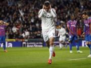"""Bóng đá - Bỏ lỡ 3 cơ hội ngon ăn, Bale """"chân gỗ"""" khiến fan Real phát điên"""