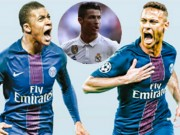 Bóng đá - Neymar-Mbappe tỏa sáng ở PSG: Real ôm hận vì Ronaldo ích kỷ