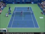 """Thể thao - Clip hot US Open: Nadal """"bẻ lái"""" nghệ thuật, Potro """"phát khóc"""""""