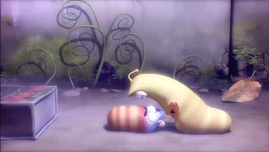 Ấu trùng tinh nghịch Larva: Đêm đáng sợ