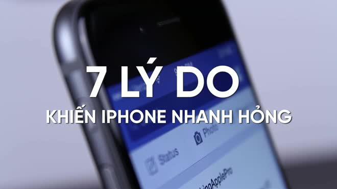 7 sai lầm trong sử dụng khiến iPhone rất nhanh hỏng