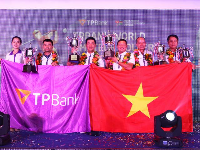 Vỡ òa golfer nghiệp dư Việt Nam gây chấn động giải thế giới 4