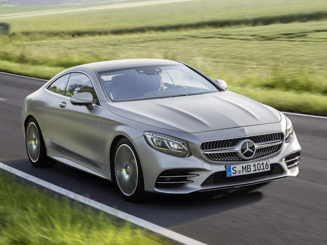 Mercedes-Benz S-Class Coupe 2018 lộ diện - 1