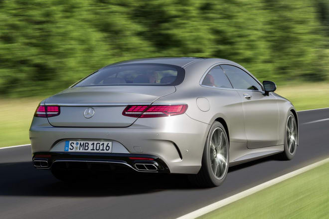 Mercedes-Benz S-Class Coupe 2018 lộ diện - 2
