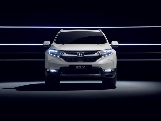 Honda sẽ giới thiệu CR-V Hybrid tại triển lãm ô tô Frankfurt 2017 - 1