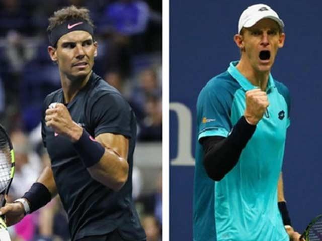 Clip hot US Open: Nadal trả giao bóng trái tay ảo diệu, cả sân chết lặng 2