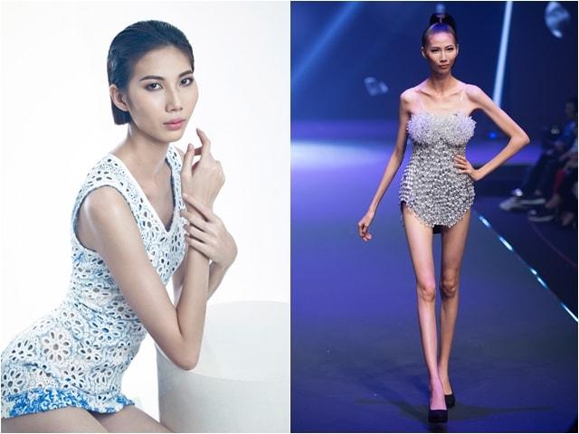 Giữa bão tranh cãi, người mẫu gầy trơ xương ở Vietnam's Next Top Model lên tiếng