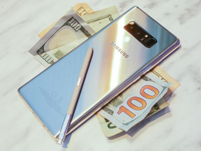 Chưa lên kệ, nhưng Galaxy Note 8 vẫn có lượng đặt hàng ấn tượng