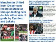 """Bóng đá - Báo chí Anh: SAO """"0 đồng"""" hạ MU, Mourinho bị chê khiếm nhã"""