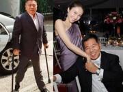 """Gia thế khủng của tỷ phú khuyết tật  """" thu phục """"  đệ nhất mỹ nữ TVB"""