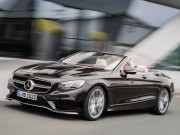 Tin tức ô tô - Mercedes-Benz S-Class Cabriolet 2018 ra mắt