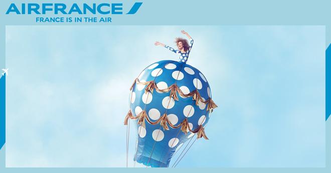 Bay cao, bay xa cùng khuyến mãi Air France Oh LaLa - 1