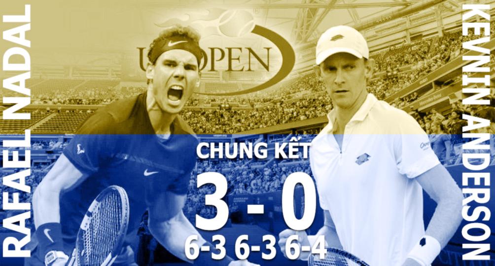 Nadal vô địch US Open: Chiến binh bất tử của quần vợt hiện đại (Infographic) 2