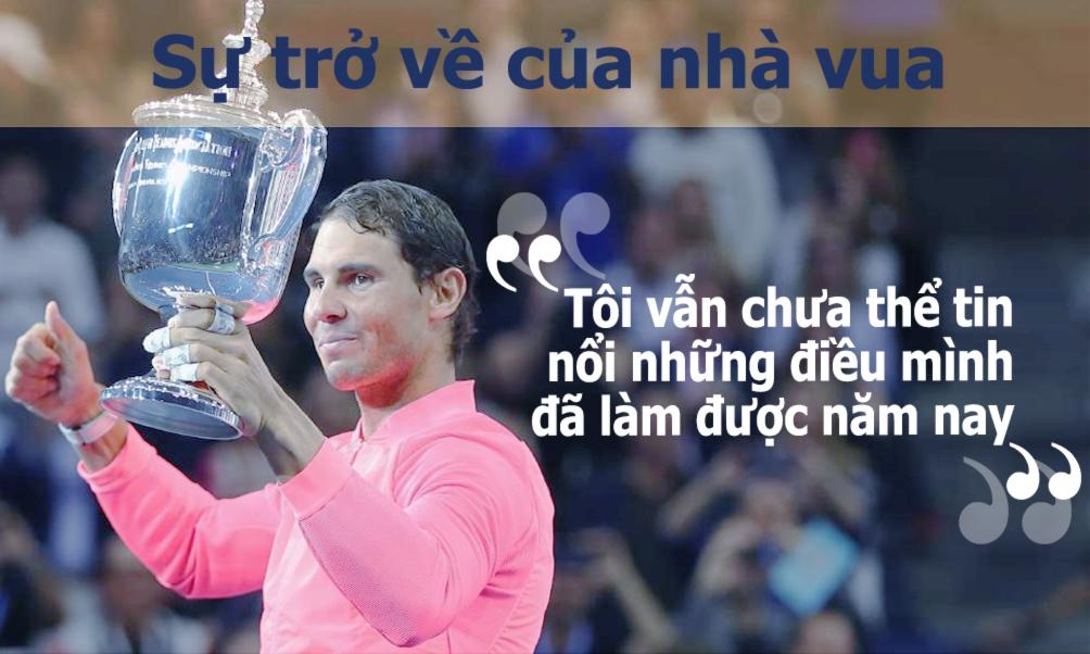 Nadal vô địch US Open: Chiến binh bất tử của quần vợt hiện đại (Infographic) 6