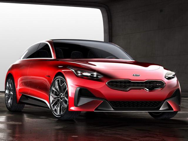 Kia sắp tung concept xe thể thao Proceed tuyệt đẹp