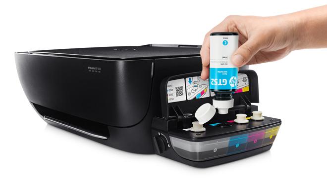 Máy in HP mới với hệ thống mực in liên tục tiết kiệm dành cho văn phòng - 2