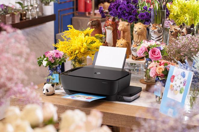 Máy in HP mới với hệ thống mực in liên tục tiết kiệm dành cho văn phòng - 4