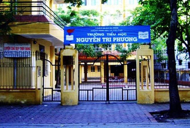 Tạm đình chỉ nữ giáo viên đánh 11 học sinh ở Hà Nội - 1