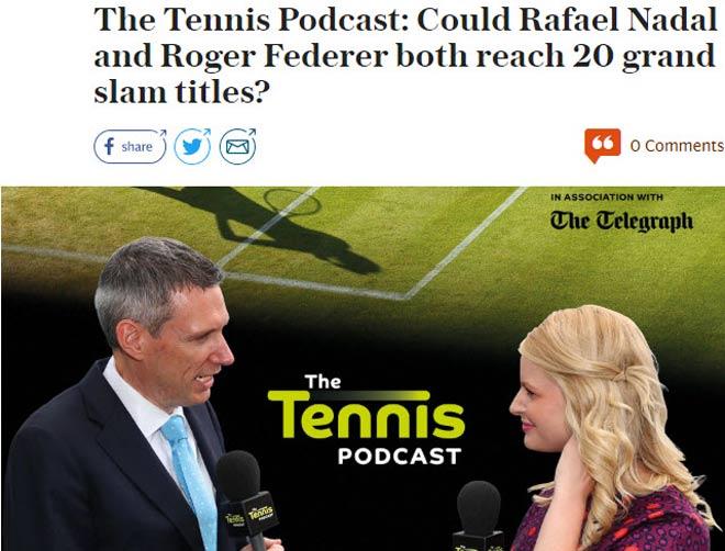 Nadal - Federer chia 4 Grand Slam: Hai vị Vua trị vì tennis 2017 2