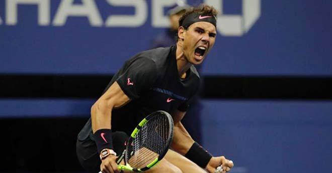"""Hotshot US Open: Nadal cứu bóng thần kỳ, đối thủ """"muốn khóc"""" 1"""