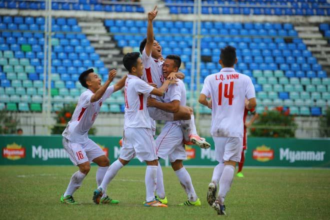 """U18 Việt Nam - U18 Indonesia: Dội mưa bàn thắng, """"tiểu Messi"""" nếm trái đắng"""