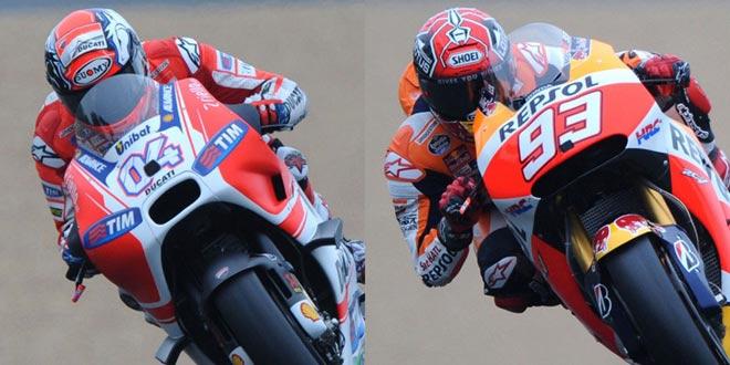 """Đua xe MotoGP: """"Hoàng tử"""" thống trị, hài hước cảnh dắt xe về đích 1"""