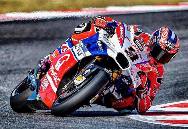 """Đua xe MotoGP: """"Hoàng tử"""" thống trị, hài hước cảnh dắt xe về đích 2"""