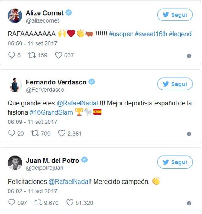 """Nadal lên đỉnh US Open, hàng loạt SAO tennis """"ngả mũ"""" 2"""