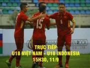 Bóng đá - Chi tiết U18 Việt Nam - U18 Indonesia: Chốt hạ bóng chết (KT)
