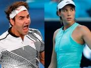 """Thể thao - Bảng xếp hạng tennis 11/9: Federer lên số 2, """"Nữ hoàng mới"""" Muguruza"""