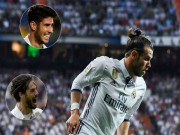 """Bóng đá - Real có """"binh biến"""": Isco & Asensio lật đổ Bale, lập bộ ba """"CIA"""""""