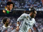 "Real có  binh biến : Isco  & amp; Asensio lật đổ Bale, lập bộ ba  "" CIA """