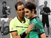 Thể thao - Nadal - Federer chia 4 Grand Slam: Hai vị Vua trị vì tennis 2017